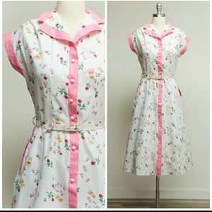 1950s novelty dress